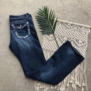 Daytrip Virgo Bootcut Jeans 33 XL Buckle Denim